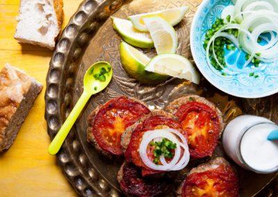 Arabischer Teller